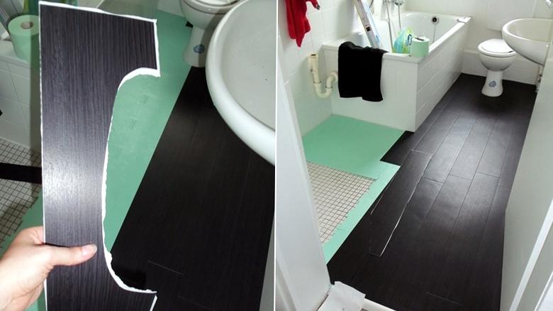 Положить пол в ванной