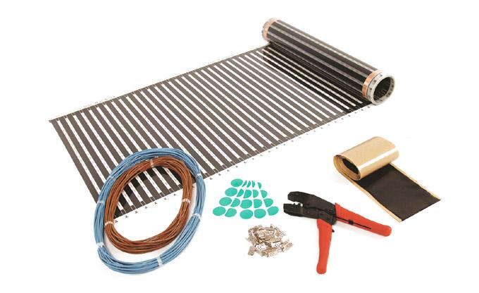 Инструмент и материалы для теплого пола