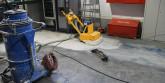 Ремонт бетонных полов: устранение трещин, выбоин, неровностей