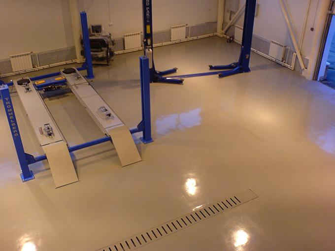 Наливные полы двухслойные бетоноконтакт работа цена
