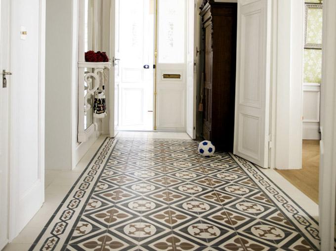 Эксклюзивная керамическая плитка в коридор - лучшее дизайнерское решение