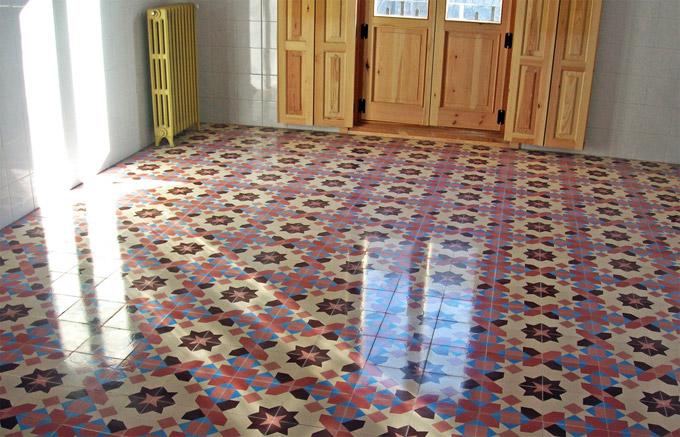Испанская плитка для коридора
