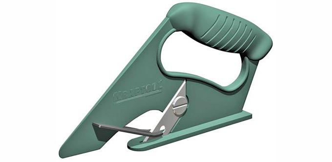 Ручной механический нож для линолеума фото