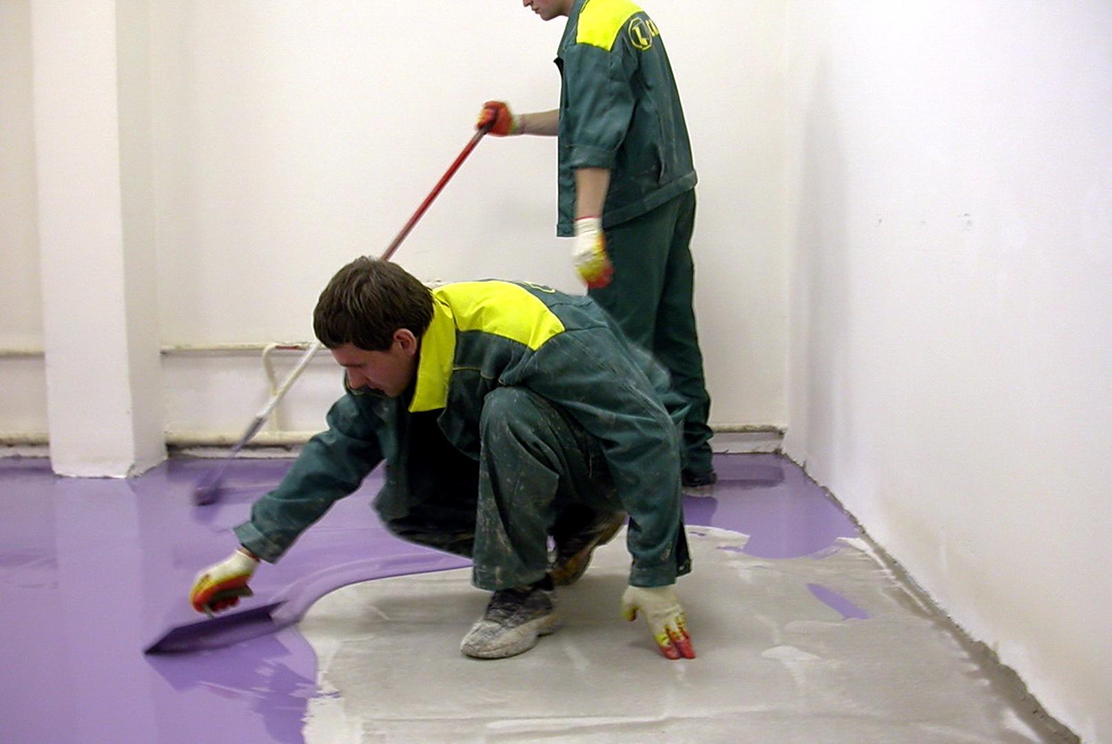 Как сделать наливной пол в домашних условиях