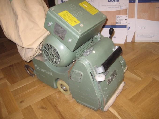 Шлифовальная машина Hummel предназначена для профессиональной циклевки и шлифовки паркетных полов