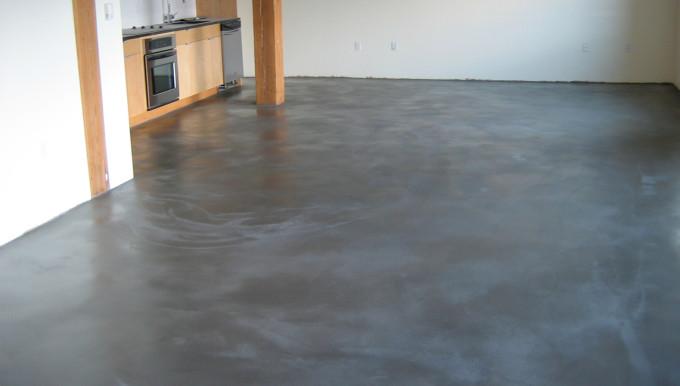 Внешний вид бетонного пола