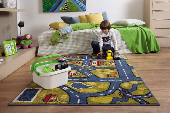 Существует несколько видов ковролина, которых можно подобрать для детской комнаты