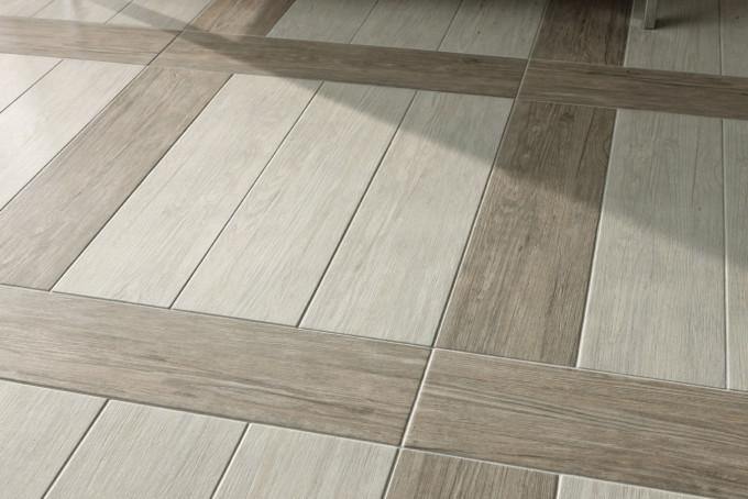 Плитка на пол с имитацией дерева