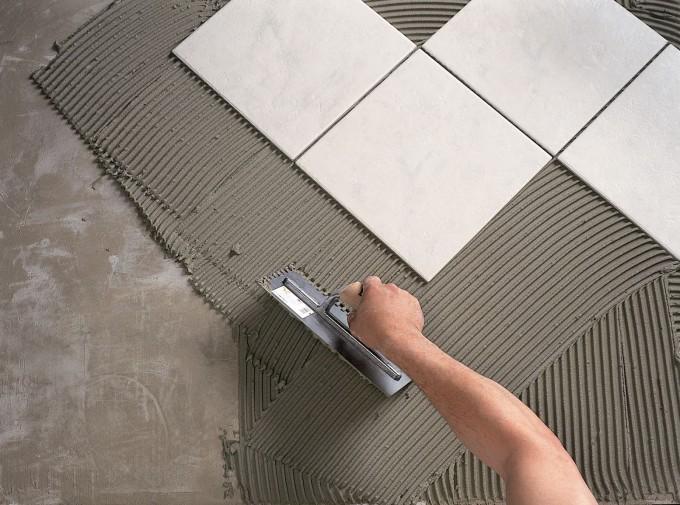Укладка керамической плитки профессионалами
