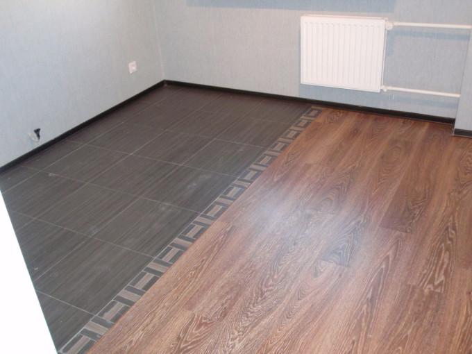 Сочетания ламината и плитки в одном помещении