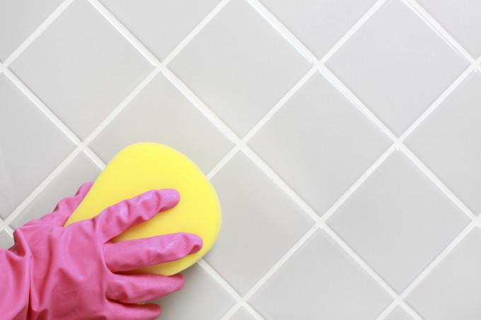 Уборка керамической плитки