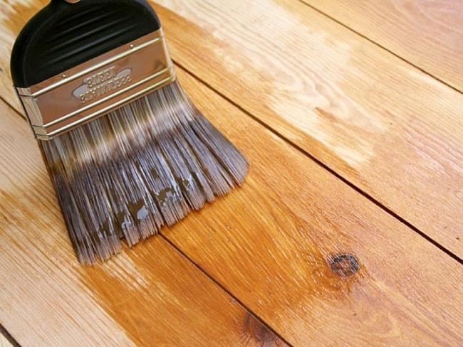 Алкидная краска для деревянных поверхностей