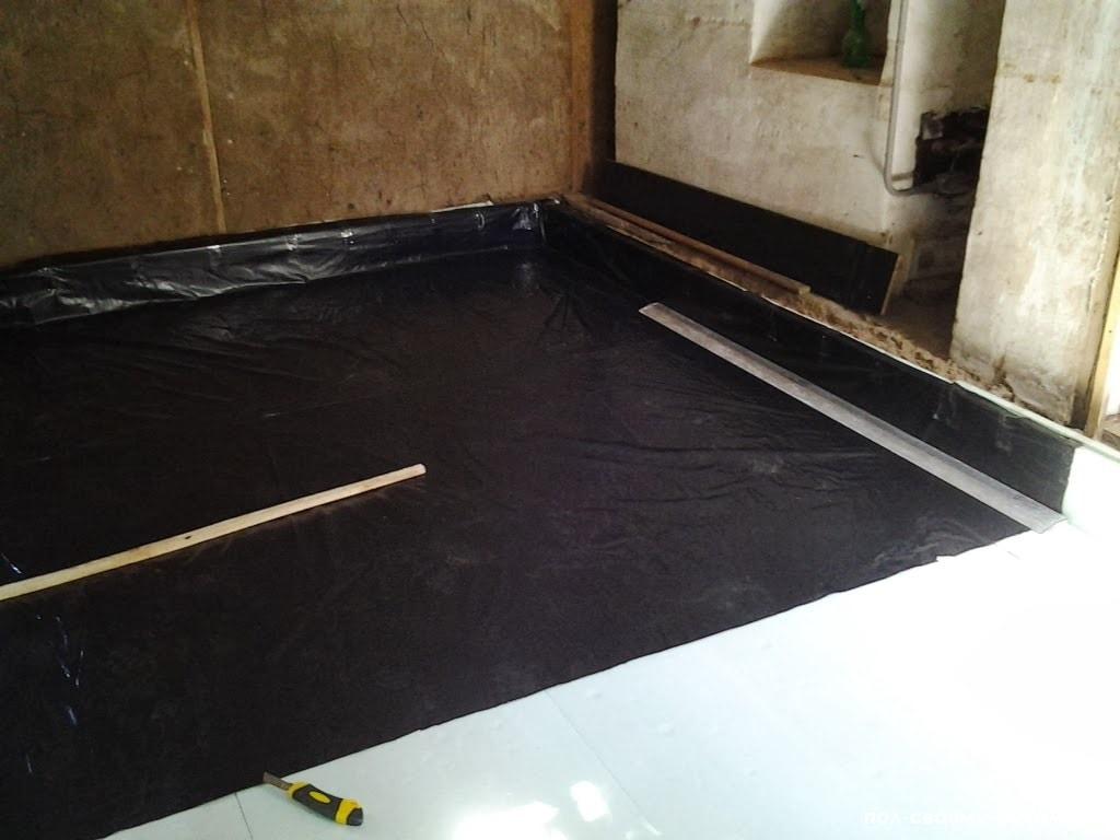 Гидроизоляция по полам мастика для изготовления кровли гаража