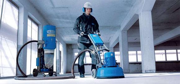 Прежде чем начинать шлифовать и полировать бетонный пол, подготовьте все необходимые материалы и инструменты