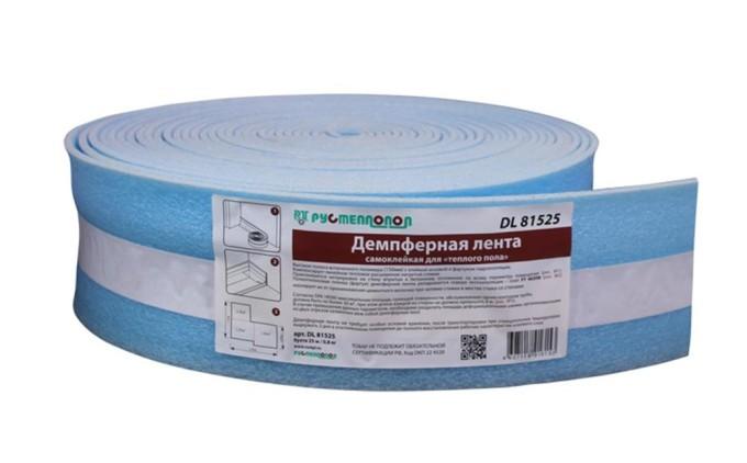 Демпферная лента - очень удобный материал для строительства