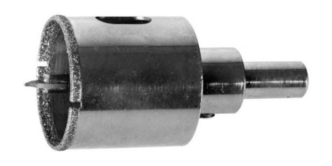 Коронки используют для получения отверстий большого даиметра
