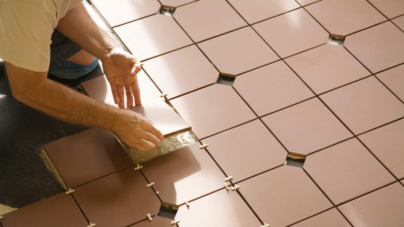 Install ceramic tile