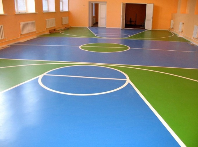 Напольные покрытия для спортивных залов должны быть высокого качества
