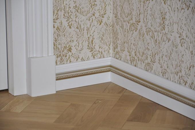 Выбирая плинтусы, учитывайте общий дизайн квартиры или помещения